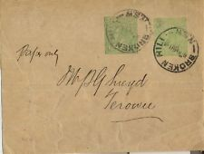 Stamps Australia newspaper wrapper 1/2d uprated 1/2d green KGV, W4 Broken Hill