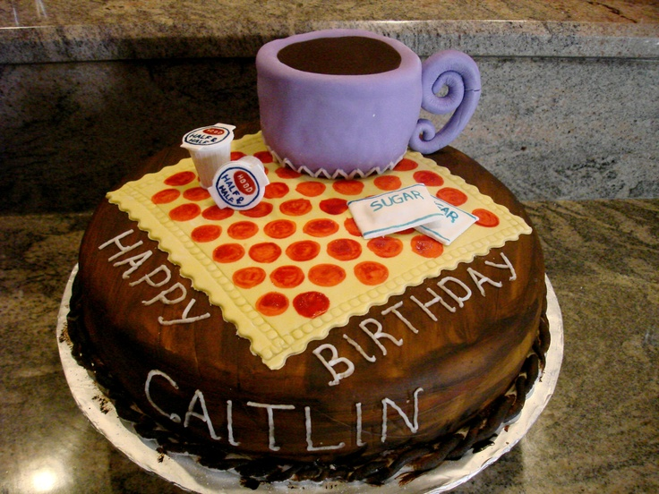 33 best images about coffee cakes on Pinterest | Birthday ...