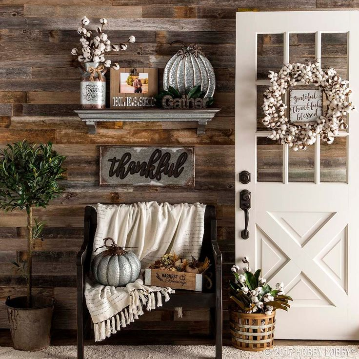 Harvest your love for all things fall with on-trend focal pieces!
