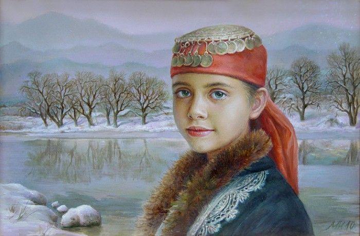 портреты художника Марины Илиевой - 03