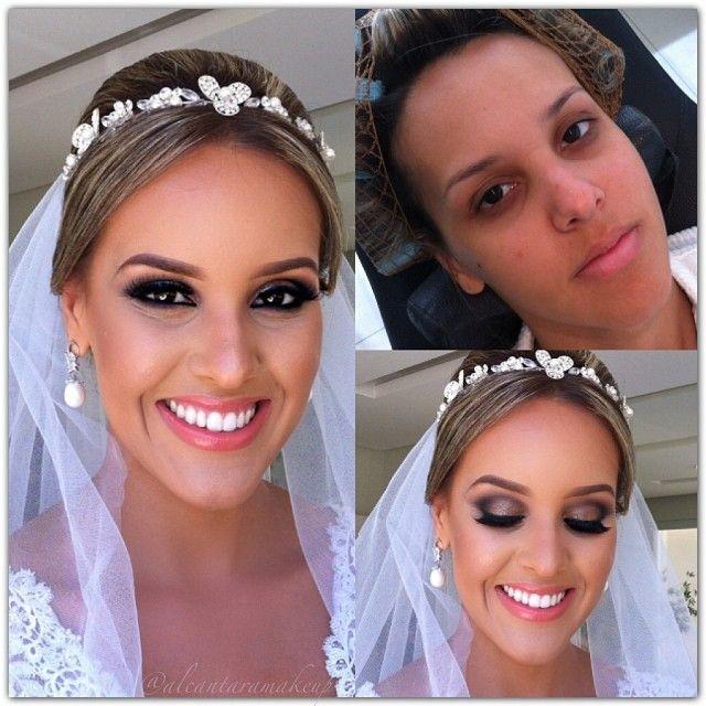 Bridal makeup @alcantaramakeup-