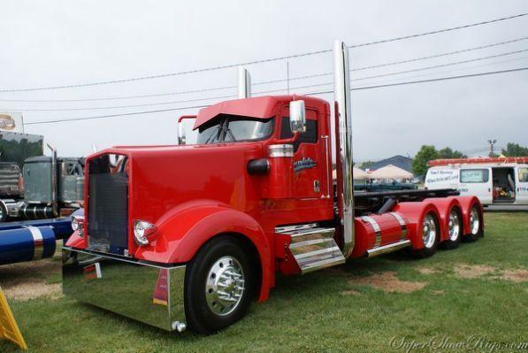 Custom Big Rig Truck Show 2001