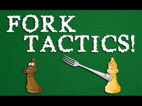 The BEST Fork Tactics in Chess!