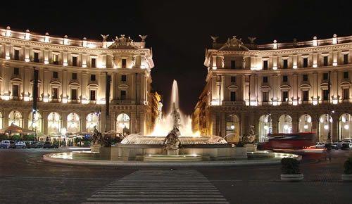 Repubblica - Nazionale - Piazza Venezia Rome