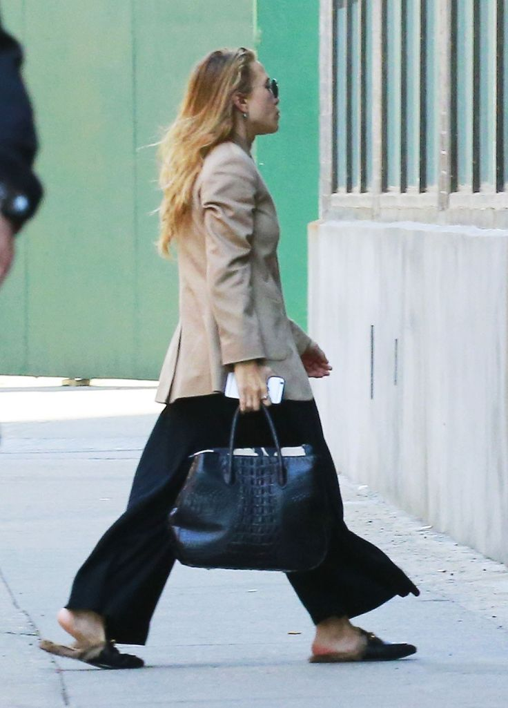 Mary-Kate Olsen Borrowed These Trendy Shoes From Ashley via @WhoWhatWear