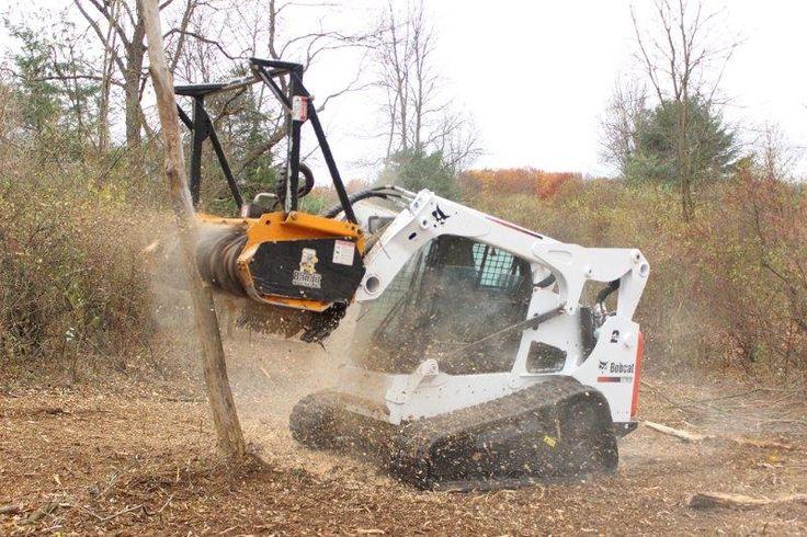 Bandits new model 60fm forestry mulcher attachment for