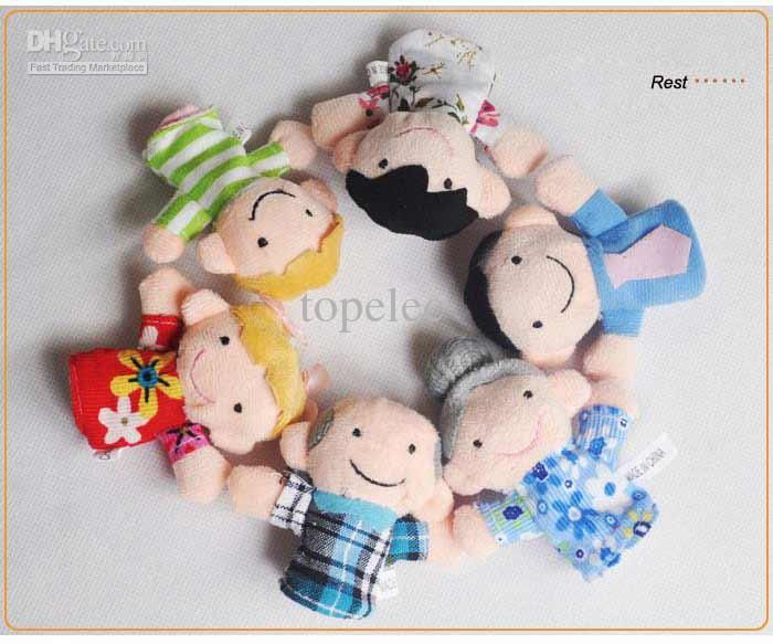 Wholesale Finger Dolls - Buy Finger Puppets Finger Dolls Family Dolls Story-telling 6 Design in One Set $34.19 is a bargain! and a cheaper alternative to the other puppet buddies.