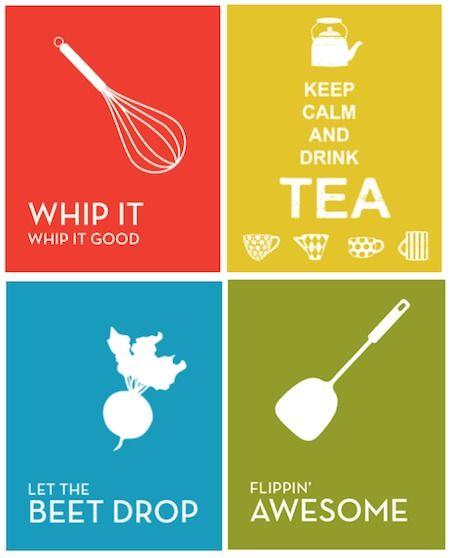 Best 25 Printable Kitchen Prints Ideas On Pinterest: 25+ Best Ideas About Kitchen Decals On Pinterest