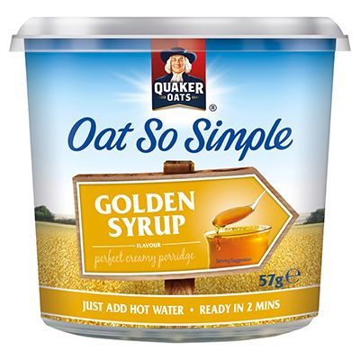 Quaker Oat So Simple Golden Syrup Porridge Pot 50G. Earn €0.50 Cash Back. Promotion Ends 23/05/2015. Check this Cash Back offer in the Reep Rewards app for participating stores and terms.