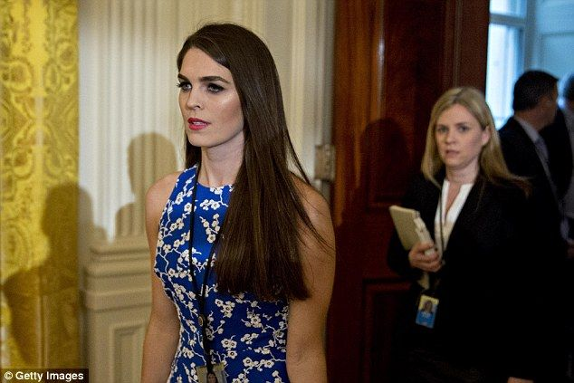 Trump spokeswoman Hope Hicks told CNN that the 'inclusive' White House was not slighting Jews but equally mourning non-Jewish Nazi victims