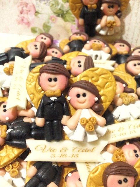 We accept made to order souvenirs, gifts and give aways for all occasions made with Polymer Clays. Photo / For more info, Contact us at: SMS/VIBER: +63909.555.9818 Manila Hotline: 02-4198666 Official Facebook Page: www.facebook.com/Sweetiesclay Instagram: @Sweetiesclaysouvenirs OFFERS Personalized: ❤Photo / Memo Holders ❤Figurine /Table Toppers ❤Keychains ❤Fridge Magnets ❤Cake Toppers Also Conducts One on One/Group/ Business Workshops