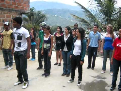 (464) Son Bata dancing instructions for Virtual Dialogue group - YMCA Medellin, Colombia - YouTube