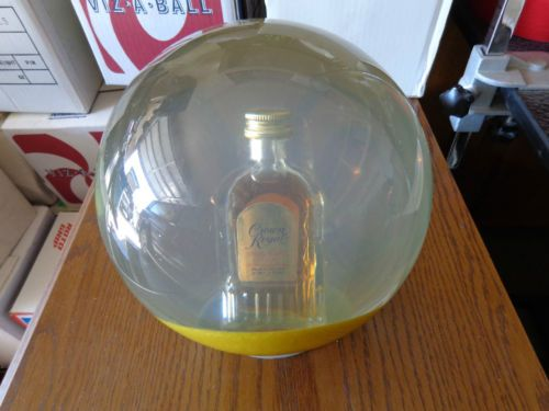 Clear 14lb Crown Royal Reserve Gold Base Bowling Ball ...