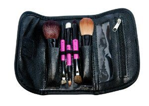 PINK TRAVEL BRUSH SET 5PC by Royal & Langnickel. $16.99. Makeup Brush Set. Great on-the-go sets! Our 5-piece travel sets will slip easily into your purse and feature all of the essentials including 3 double ended brushes for a total of 8 unique brush heads