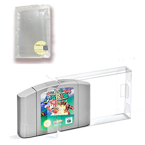 Childhood 10Pcs Clear Case Sleeve Protector for Nintendo ...