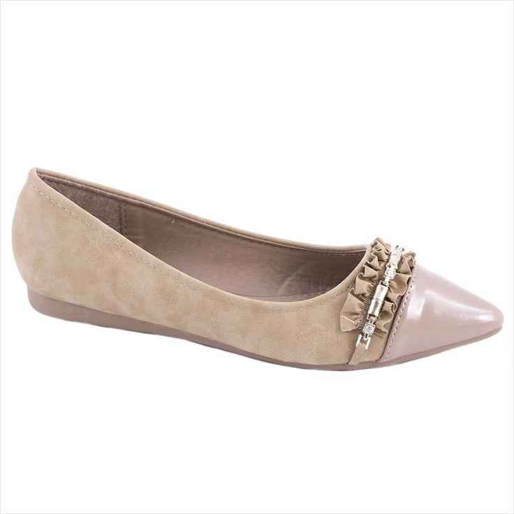 Balerini kaki de dama 8263-6K - Reducere 60% - Zibra