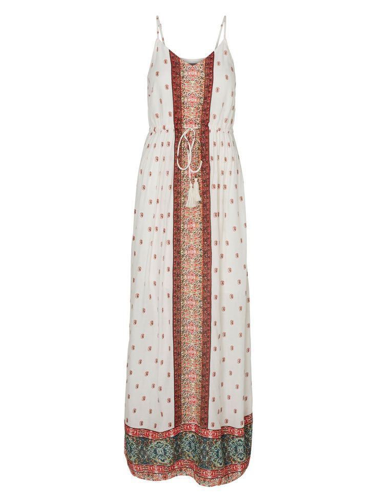 Printed maxi dress from VERO MODA - wear it with a pair of brown leather sandals and a straw hat for the perfect summer look!