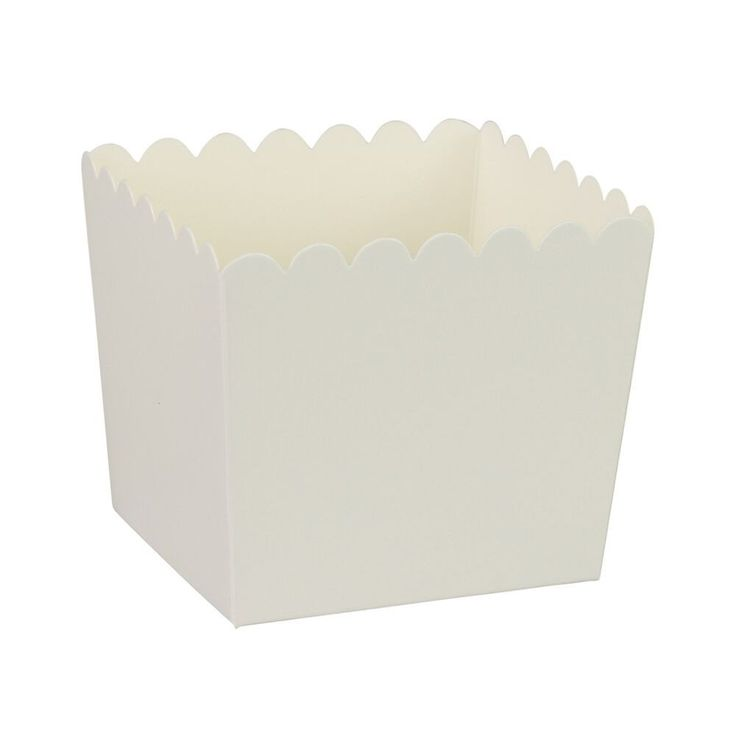 White Scallop Favour Boxes (6 Pack) – Lucky Lulu Party Shop