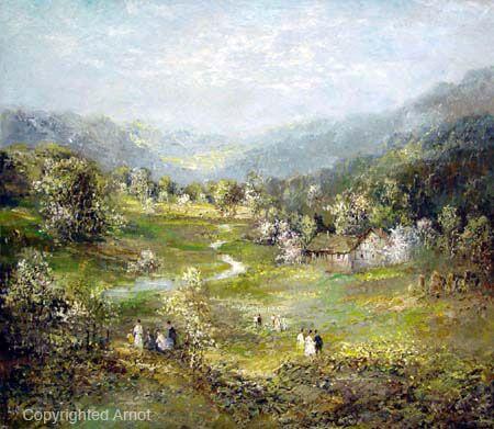Willi Bauer, Landscape.