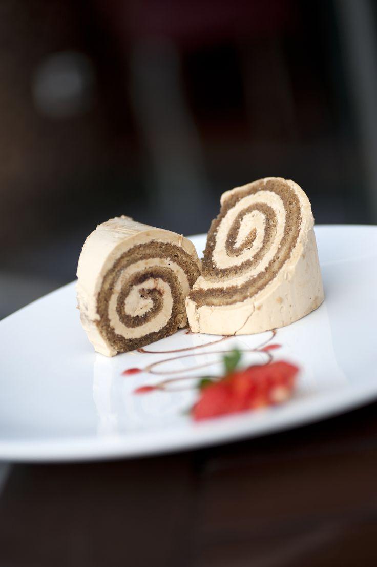 It's the season of sweetness. Try Girello al Caffe Con Crema Pasticcera - our Italian traditional dessert from Bene's Italian Kitchen
