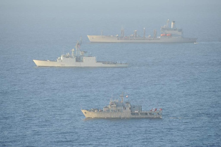 Best Pictures of 2012, Canadian Forces in both operational capacity and at Sea