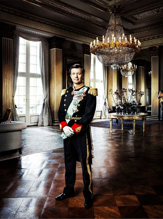 """danishroyalty: """" """"New photos of Crown Prince Frederik and Crown Princess Mary, taken by renowned photographer Marco Grob, have been released today. The photos will be included in Marco's new..."""