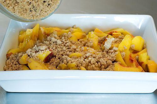 Peach Crisp with Maple Cream Sauce | Recipe | Cooking, The ...