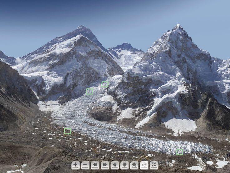 Sorprendente fotografía interactiva del Monte Everest de 4 mil millones de pixeles