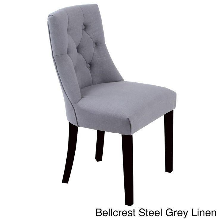 Bellcrest Button Tufted Upholstered Dining Chairs Set Of 2 By Monsoon