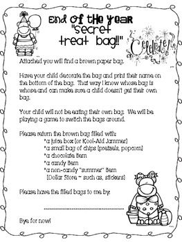 End Of The Year Party In A Bag {Freebie}