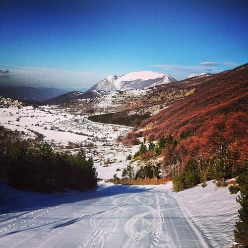 Goodmornig :D    what are you doing? Are you skiing?    Here we are in Abruzzo - Campo di Giove :D    photo Antonia Santoro