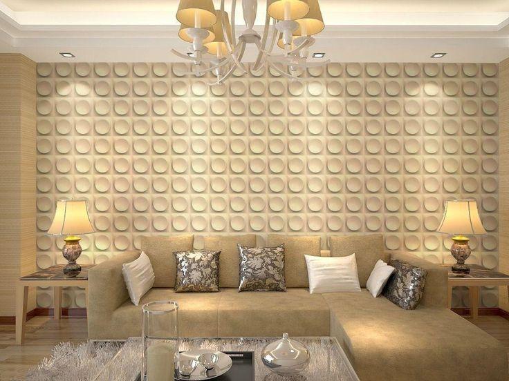 39 best PAINÉIS/PAREDES images on Pinterest | 3d tiles, Living room ...