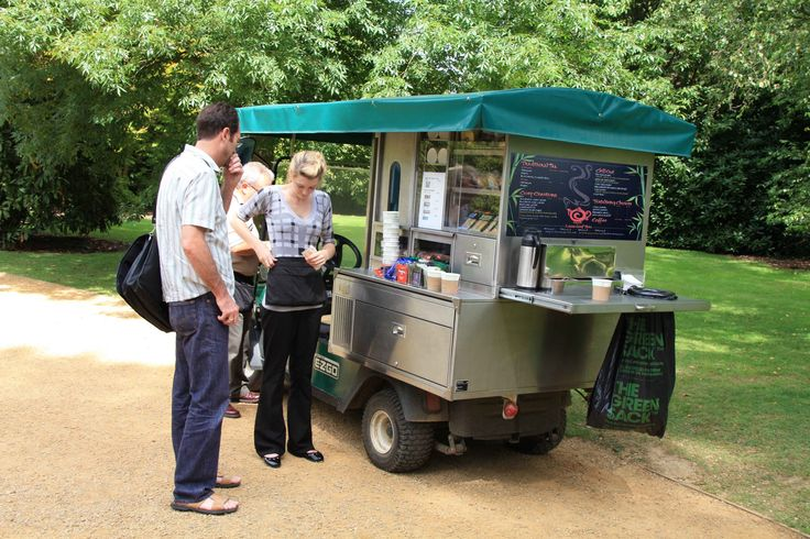 Munch Buggy - Exciting and Electric - Runs ice cream freezer and hot drinks tap all off the battery! No need for a generator #innovation #ecofriendly #sustainabledesign