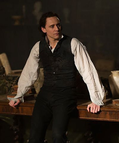 Tom Hiddleston is Sir Thomas Sharpe in Crimson Peak. Source: http://crimsonpeakmovie.tumblr.com/post/131061843933