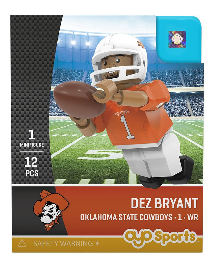 Oklahoma State Cowboys DEZ BRYANT College Legend Limited Edition OYO Minifigure
