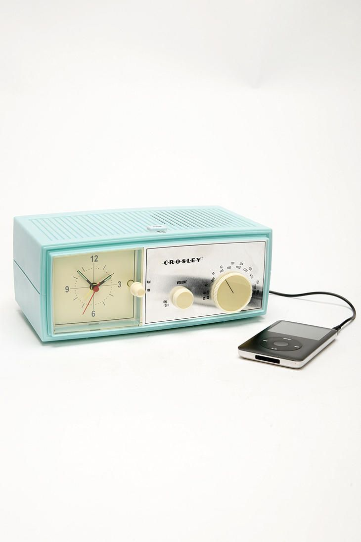 Crosley Alarm Clock Radio Speaker                                                                                                                                                                                 More