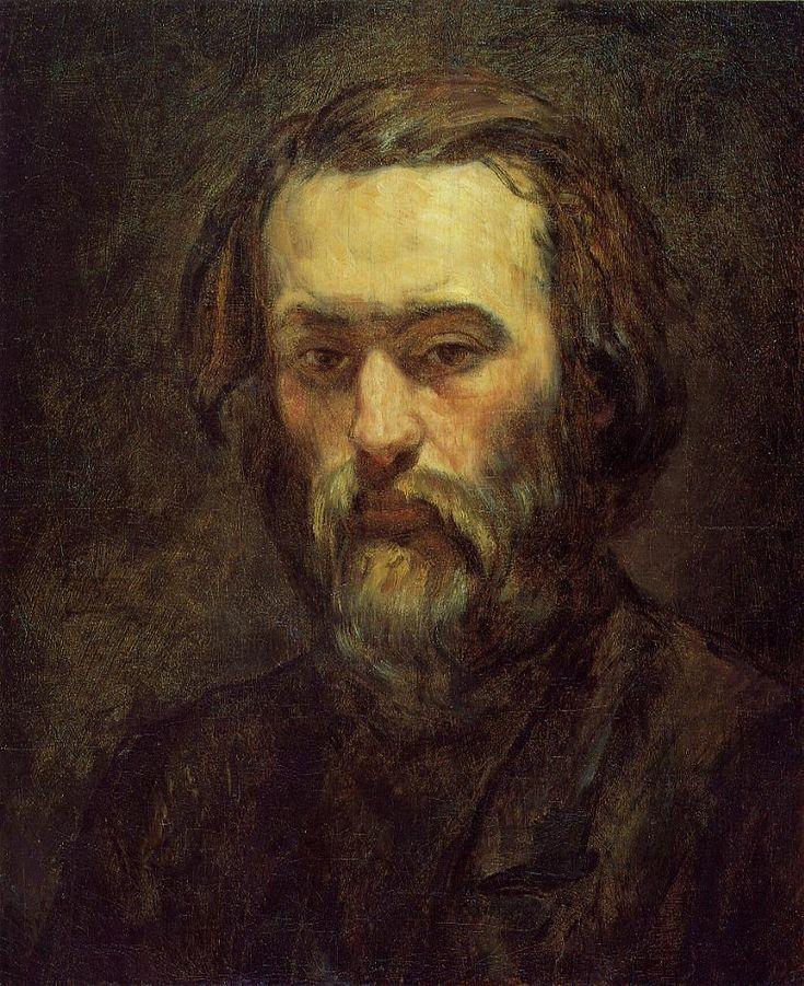 paul cezanne | Portrait of a Man - Paul Cezanne - WikiPaintings.org