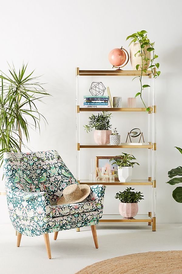 Slide View: 1: Liberty for Anthropologie Strawberry Thief Rivona Chair