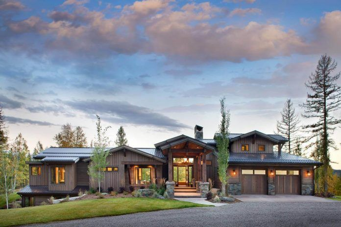 Whitefish Mountain Residence by Sage Interior Design - CAANdesign | Architecture and home design blog