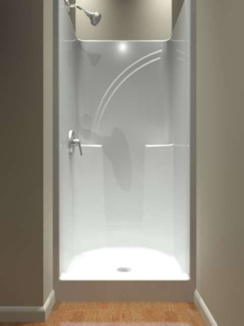 fiberglass shower stalls best 25 one shower stall ideas on one 11079