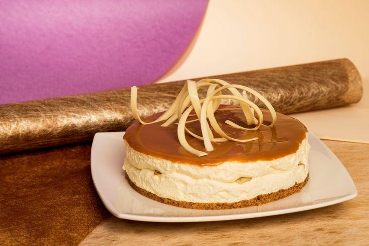 Caramel cheesecake / Cheesecake de Arequipe.