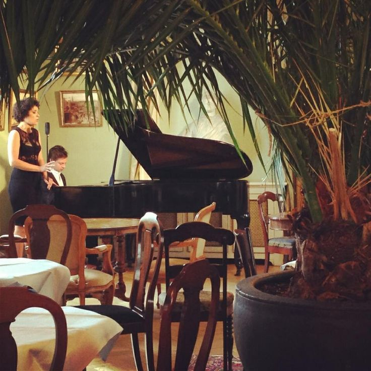 Jazz in our tearoom in the Gardenroom at the Museum of Copenhagen!