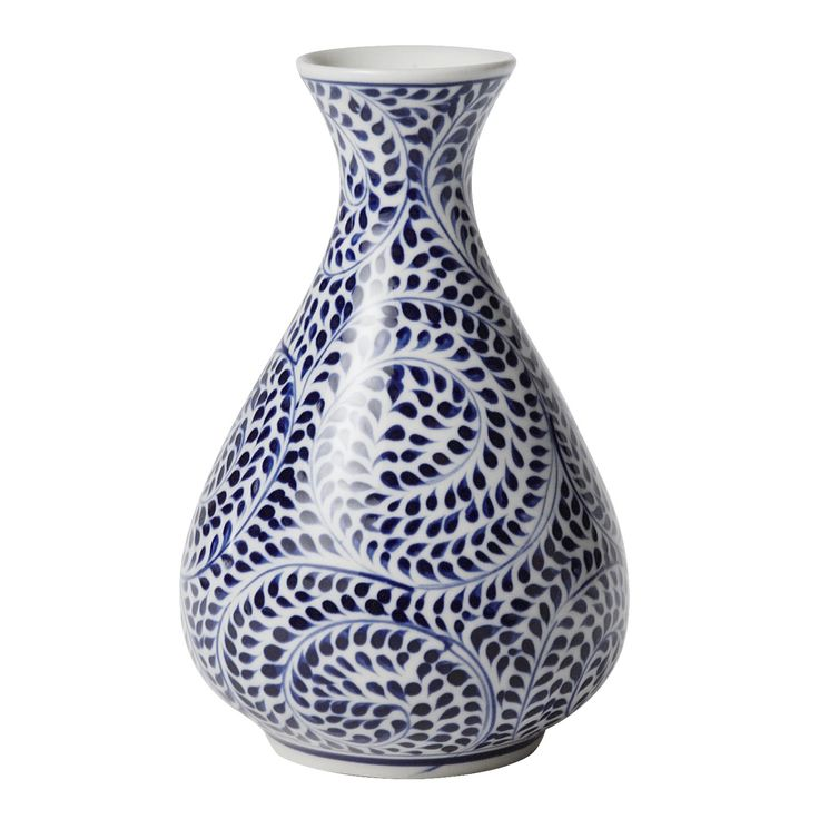 Blue Spiral Vase - Vases - Home Accents - Products