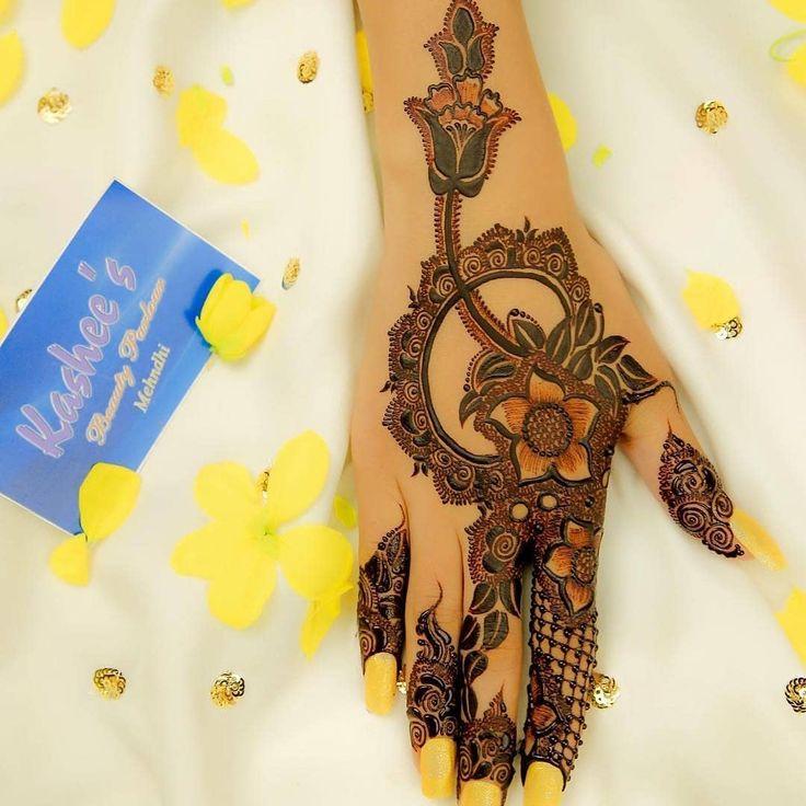 Back hands mehndi designs in 2020 mehndi designs for