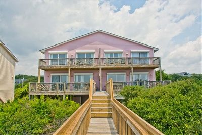 Conch Out is a 4 bedroom, 4 bathroom Oceanfront vacation rental in Emerald Isle, NC.