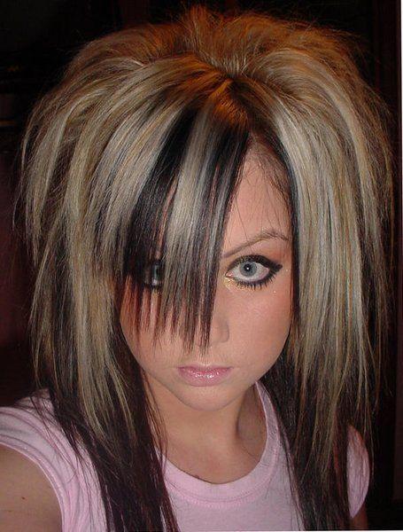 Stylish Goth Hairstyle