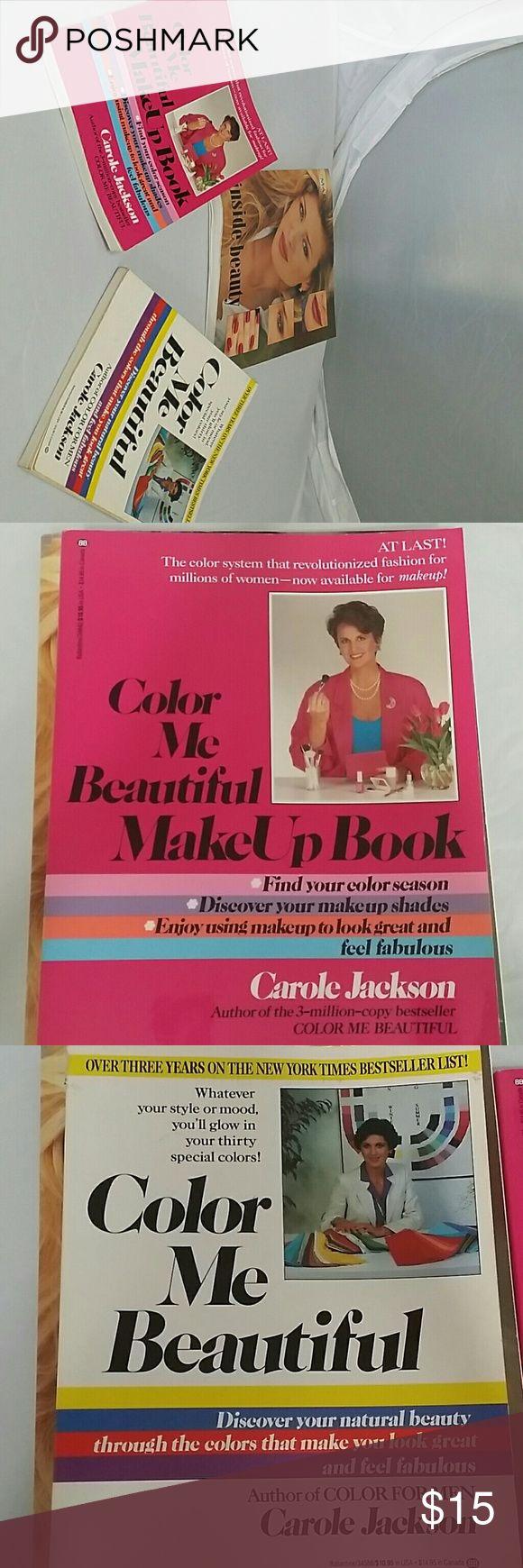 Color Me Beautiful Fashion & Make-up Books