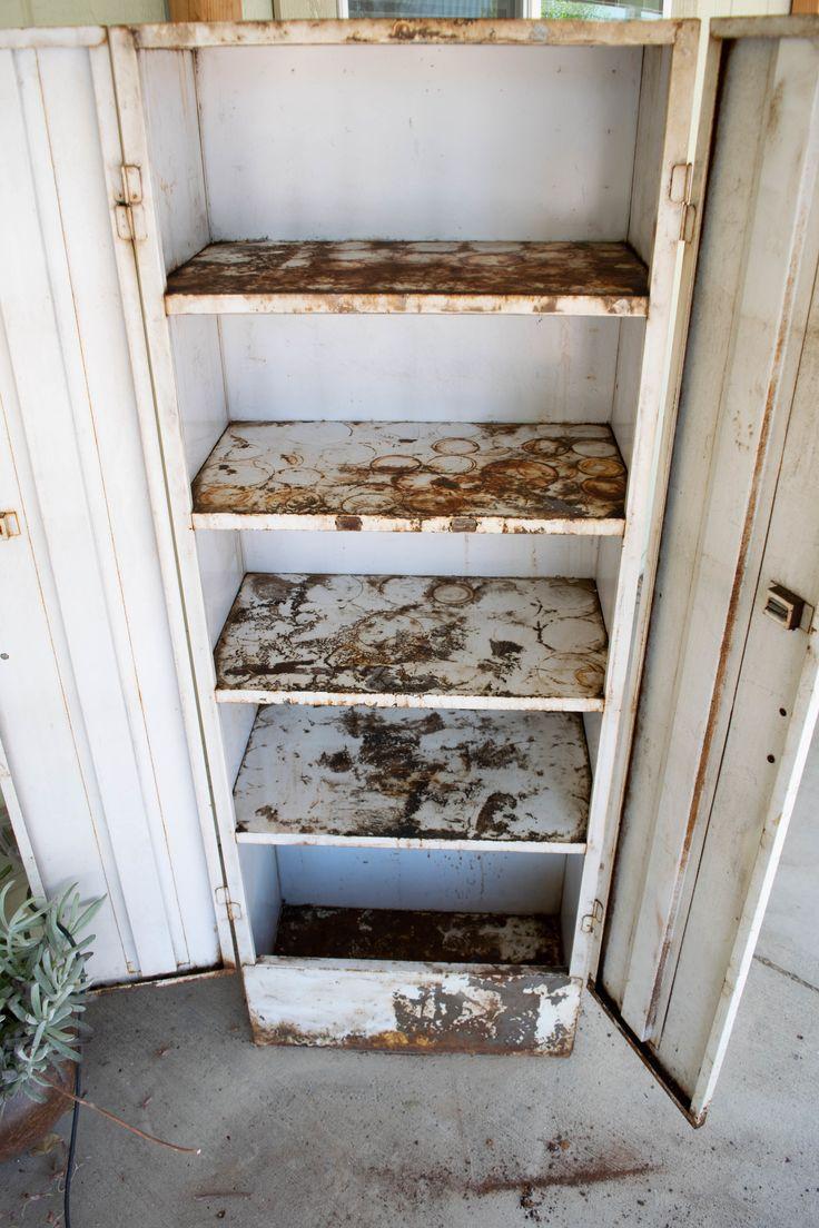 Upcycled Furniture - Metal Locker/Cabinet | Vintage metal ...