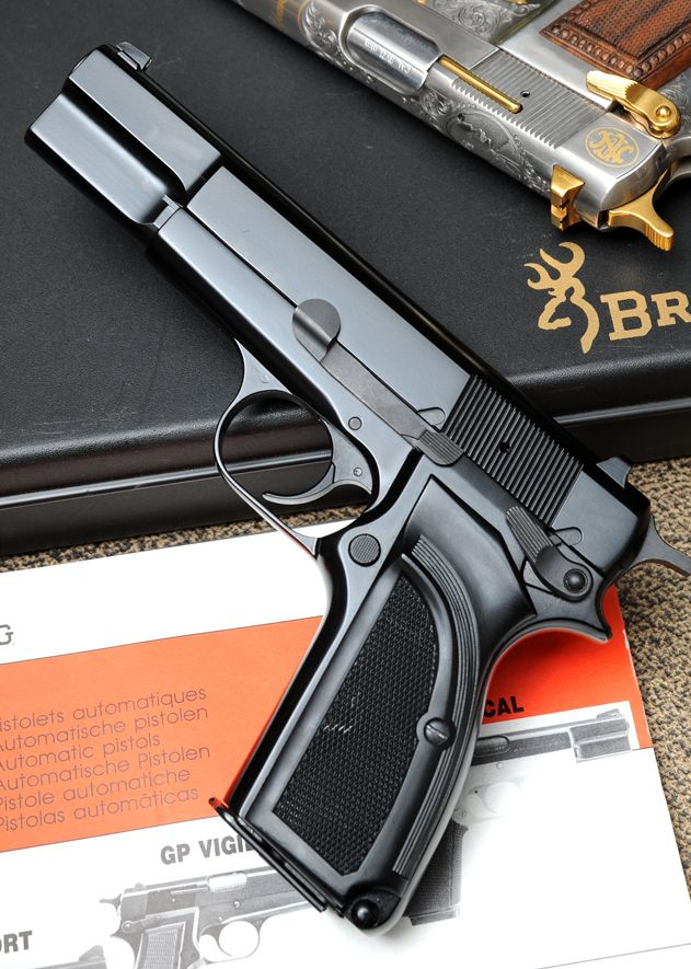 Browning HP35 9mm pistol, my all time favorite pistol.