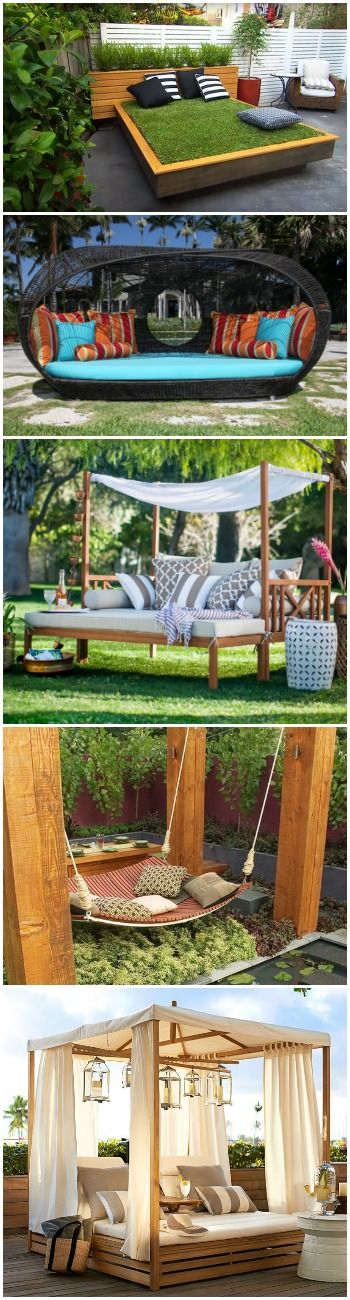 10 Outdoor Daybeds for a Lazy Afternoon - #PatioOutdoorFurniture #Best #Chair #Decoration #Garden #Lawn #Patio #Terrace #Top (source: 1001gardens.org)